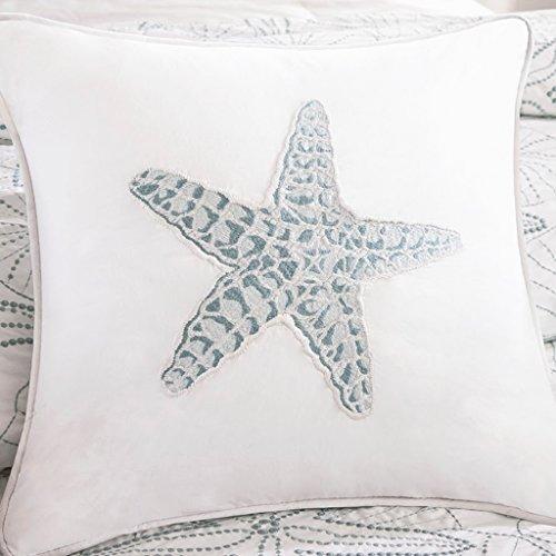 (Harbor House Maya Bay Square Pillow White)
