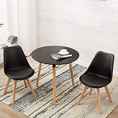 YEEFY Dining Chairs Set of 2 Modern Dining Room Chairs DWS Chair for Kitchen