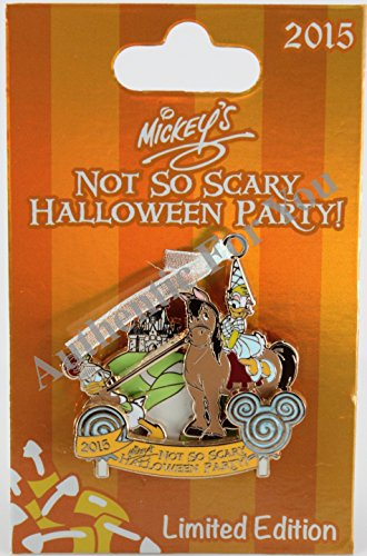 Disney Parks 2015 MNSSHP Halloween Party Daisy and Donald Duck Trading Pin Limited Edition LE -
