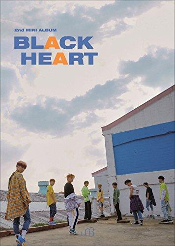 Interpark UNB - BLACK HEART [HEART ver.] (2nd Mini Album) CD+Booklet+2Photocards+Folded Poster