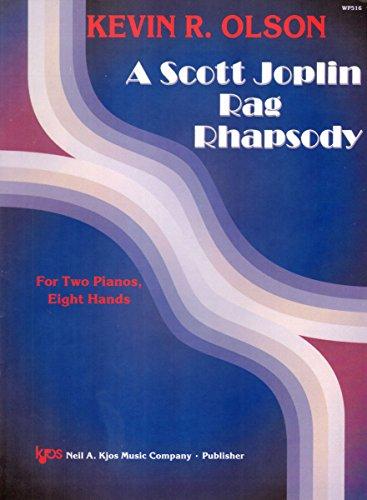 WP516 - A Scott Joplin Rag Rhapsody For Two Pianos, Eight Hands
