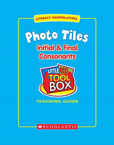Little Red Tool Box Photo Tiles Initial and Final Consonants, SC991423