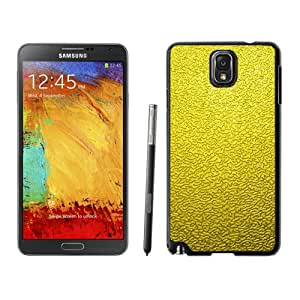 Abstract Minimal Golden Texture Background Durable High Quality Samsung Note 3 Case