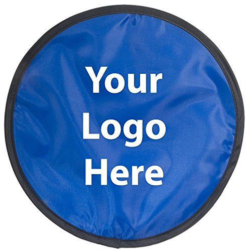 Promotional Flying Discs - Collapsible Flyer - 100 Quantity - $1.85 Each - Promotional Product/Bulk with Your Logo/Customized