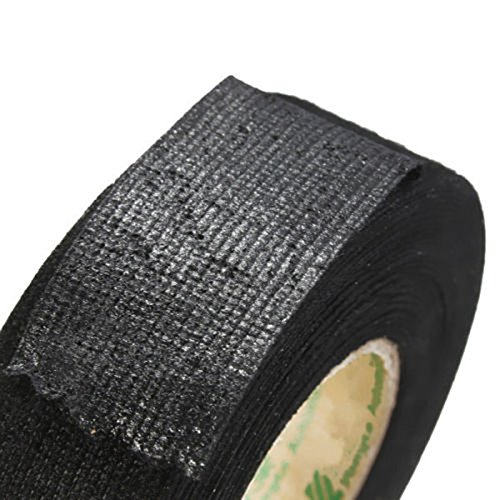 SSXY Car Wire Loom Harness Tape Black,Insulation Tape High Temperature Resistant Automotive Wiring Harness Tape: