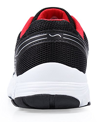 Deportivo Pr¨¢ctica Santiro Correr Calzado Entrenadores Negro Zapatos Gimnasio para Deportivos Mujeres Caminar Ligero TwvOHxE