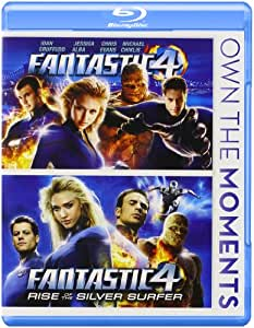 Fantastic Four / Fantastic Four: Rise of the Silver Surfer [Blu-ray]