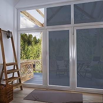 Amazon.com: Beautyhero Window Film One Way Mirror Solar Film Non ...