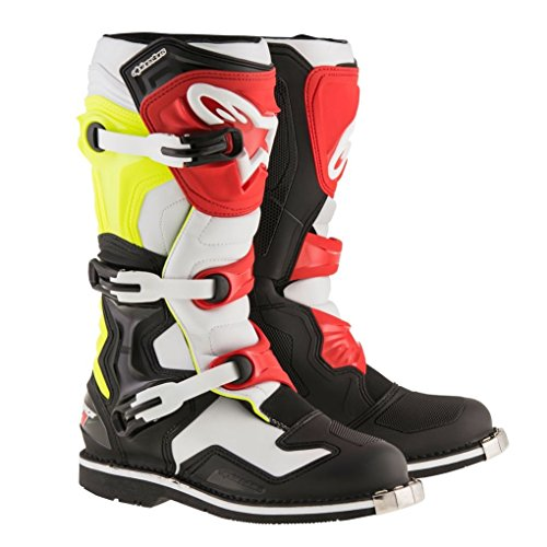Alpinestars Tech 1 Motocross Boot - Black/White/Red - 12