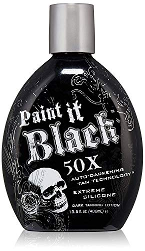 Millennium Tanning Paint It Black 50X,13.5 Oz (Best Tanning Booth Lotion)