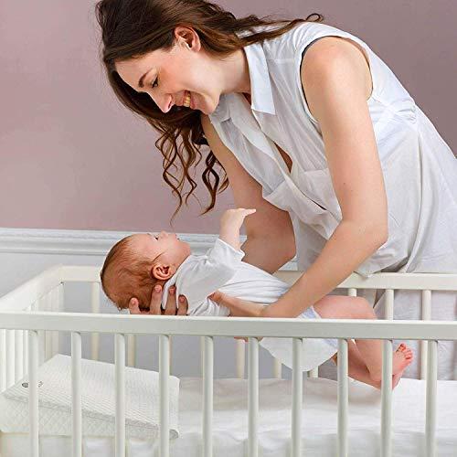 Amazon.com: Cojín de cuña para bebé, con cuña de cuna ...