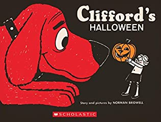 book cover of Clifford\'s Halloween