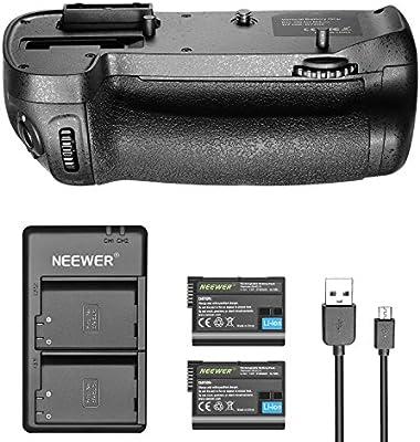 Neewer Agarre Vertical de Batería MB-D15 con 2 Piezas 2100MAH EN ...