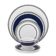 Mikasa Akoya Cobalt 5-Piece Place Setting Dinnerware Set, Service for 1