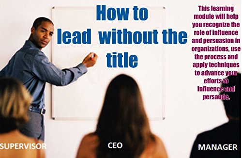 How to lead without the title (A Title Lead To How Without)