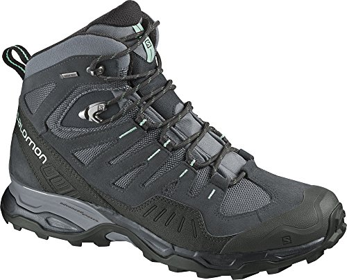 SALOMON Conquest GTX Bota de Senderismo Señora Pearl Grey/Dark Cloud/Igloo Blue