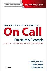 Marshall & Ruedy's On Call: Principles & Protocols: Australian Version Paperback