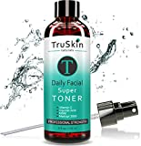 DAILY Facial SUPER Toner for All Skin Types - Contains Glycolic...
