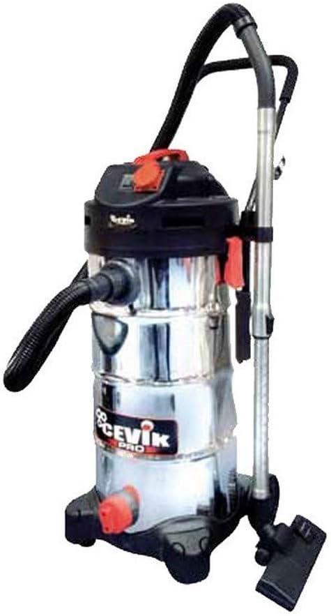 Cevik CE-PRO50XT - Aspirador eléctrico industrial.1400 W. 50 lt ...