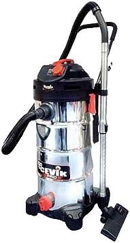 Cevik CE-PRO50XT - Aspirador eléctrico industrial.1400 W. 50 lt. Contenedor acero inox. Accesorios incluidos. Tele comandado: Amazon.es: Bricolaje y herramientas