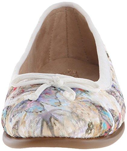 Aerosoles Donna Fashionista Balletto Tessuto Bianco Piatto
