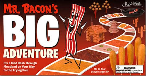 Mr Bacons Adventure Board Game