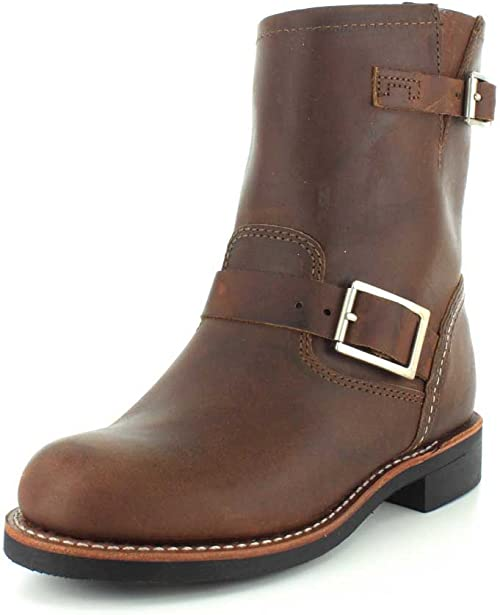 Red Wing Womens Engineer 3356 Leather Boots