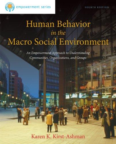 Brooks/Cole Empowerment Series: Human Behavior in the Macro Social Environment