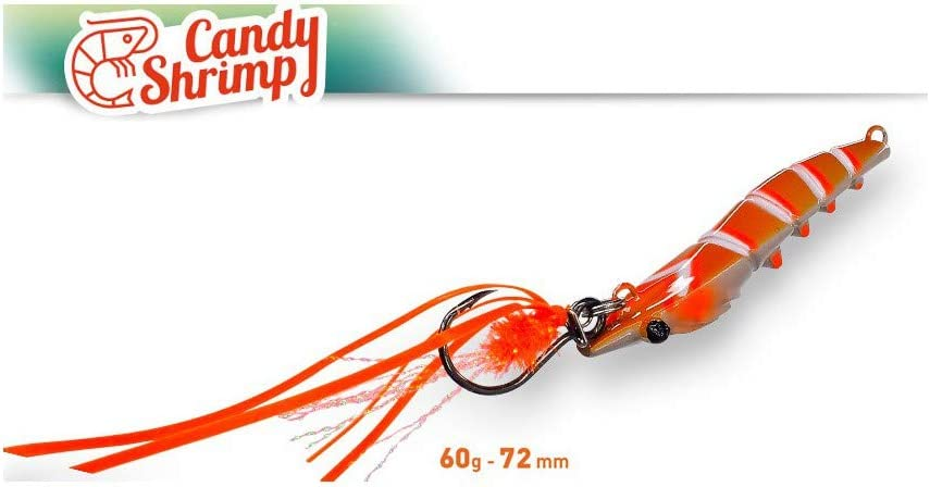 Candy Shrimp Fiiish (72mm 60g - Orange Fight): Amazon.es: Deportes ...