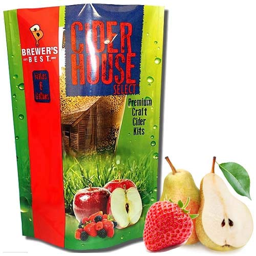 Cider House Select Strawberry Pear Cider Making Kit (5.3 lb)