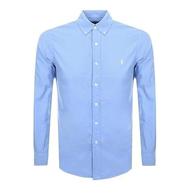 Polo Ralph Lauren - Camisa de algodón Oxford de Ajuste Delgado ...