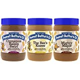 Peanut Butter & Co. Breakfast Pack, 16 Ounce Jars (Pack of 3)