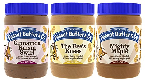 Butter Swirl Peanut Chocolate (Peanut Butter & Co. Breakfast Variety Pack, Gluten Free, 16 oz Jars (Pack of 3))