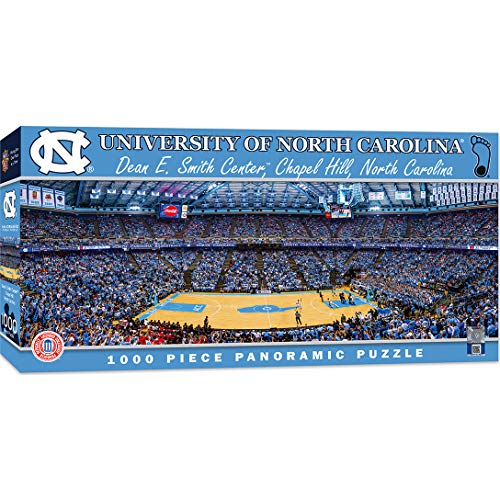 MasterPieces NCAA North Carolina Tar Heels 1000 Piece Stadium Panoramic Jigsaw Puzzle ()