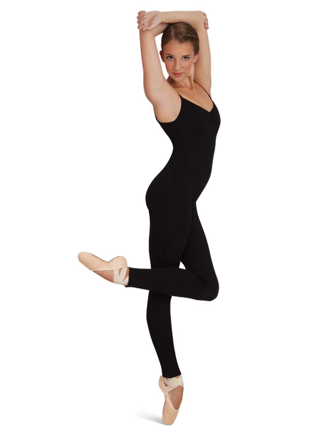 Capezio Womens Unitard Black Medium