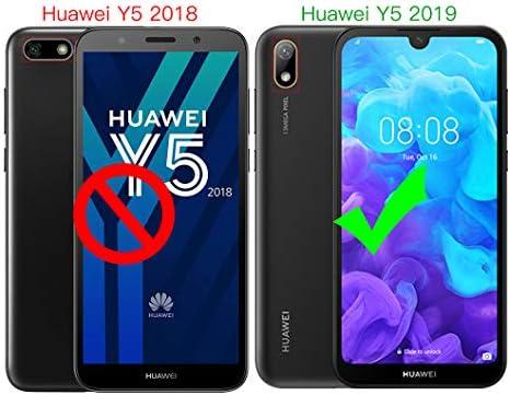 Wanxideng - Funda para Huawei Y5 2019 + Protectores de Pantalla in ...