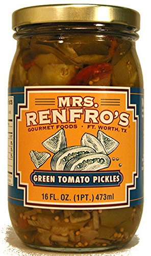 Mrs. Renfro's Green Tomato Pickles - Hot Green Tomato