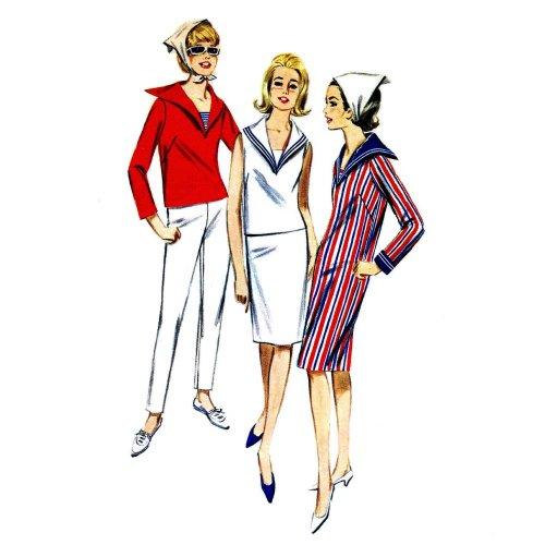Vintage Pattern Sailor - 6
