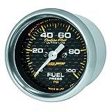 Auto Meter 4763 Carbon Fiber Electric Fuel Pressure Gauge