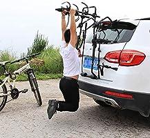LALEO Soporte de Enganche para 3 Bicicletas, Plegable, Placa de ...