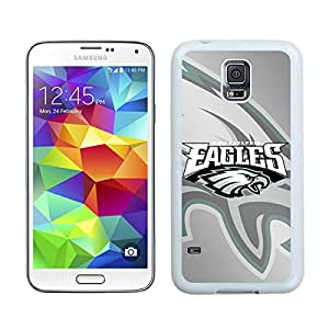 For Samsung Galaxy S5,100% Brand New Philadelphia Eagles 4 White For Samsung Galaxy S5 i9600 Case