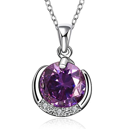 lovav-party-prom-inlaid-purple-round-crystal-cubic-zirconia-platinum-plated-womens-pendants-necklace