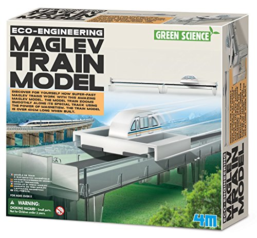 Kit de fabrication Green Science : Modle de train  sustentation magntique