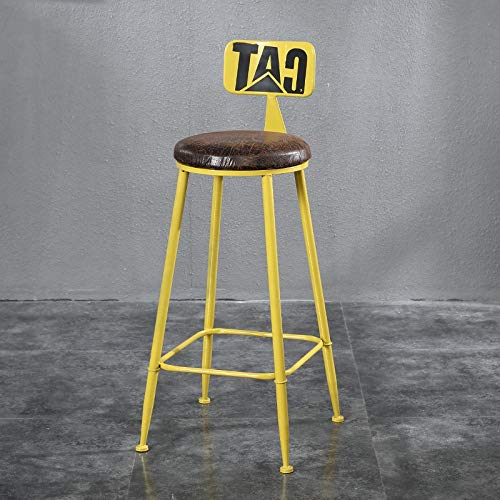 D RUNWEI Bar Stool High Stool Fashion Home Decoration Stool Home Business Office Chair (color   C)