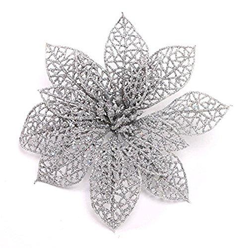 Christmas Silver Ornaments: Amazon.com