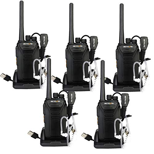 Retevis RT27V MURS Walkie Talkies 5 Channel VHF Radios DCS