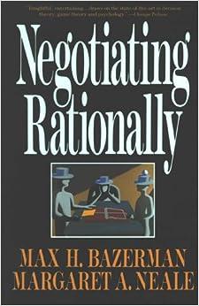 Descargar PDF Negotiating Rationally