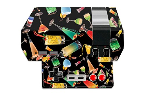 MightySkins Skin Compatible with Nintendo NES Classic Edition – Cocktail Therapy | Protective, Durable, and Unique Vinyl Decal wrap Cover | Easy to Apply, Remove, and Change Styles | Made in The USA