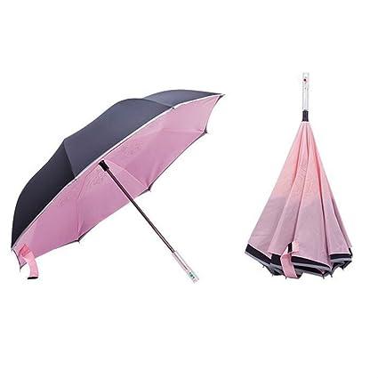 starall multifuncional plegable paraguas reflectante mango con linterna, coches, SOS peligro señal de advertencia