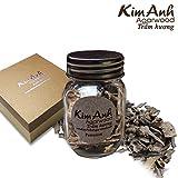 Kim Anh Agarwood premium chips – Vietnam natural agarwood chips - Pure high quality Agarwood Aloeswood chips - Oud wood chips - Oudh chips for - charcoal or electric incense burner- 15g
